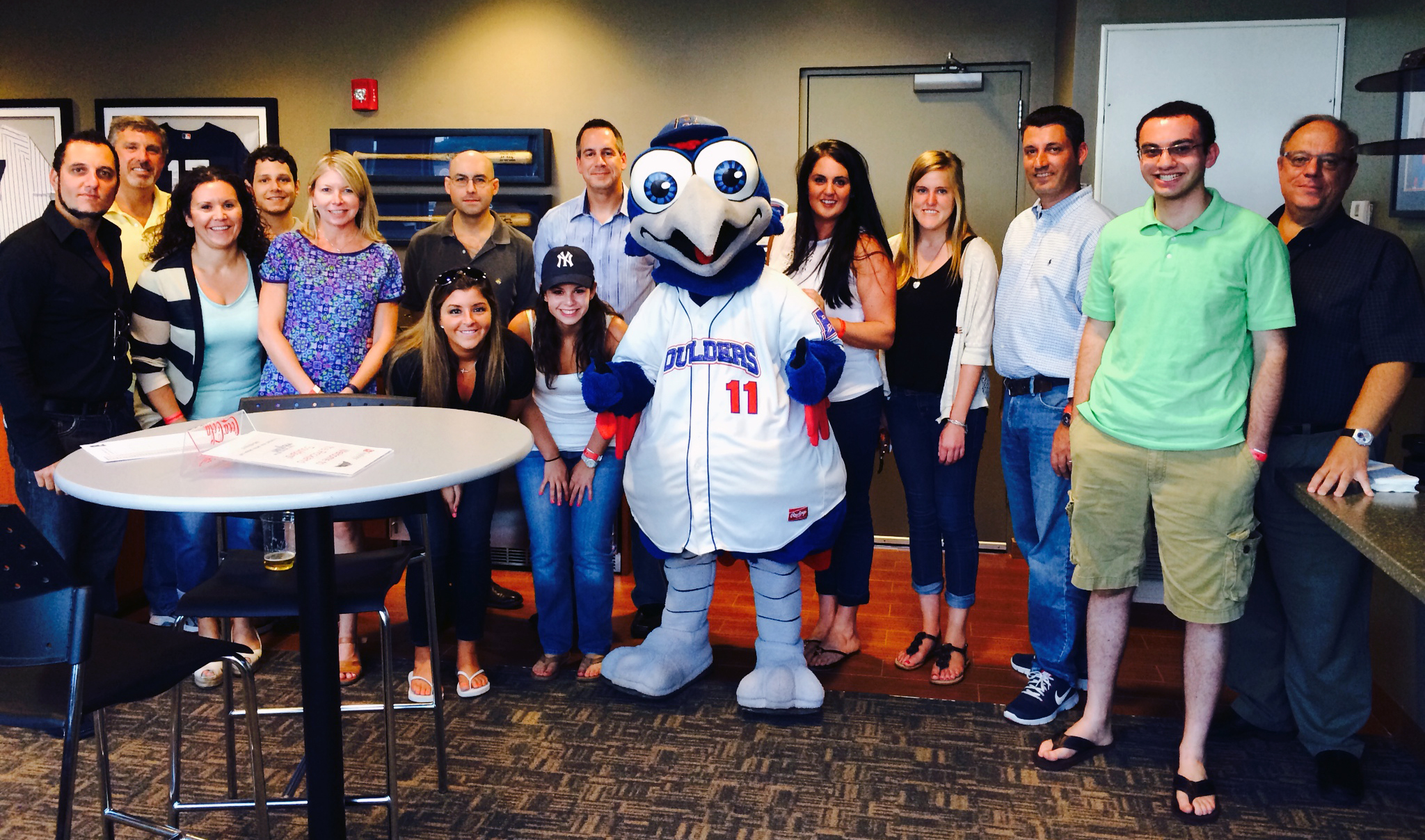 Reach Marketing Team at the Rockland Boulders game