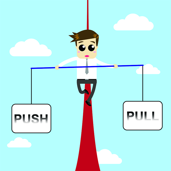 Balancing Push and Pull with Marketing Automation
