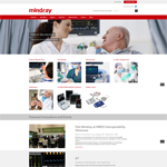 Website Design Mindray